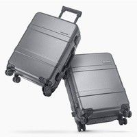 Фото Чемодан RunMi 90 Points Classic Aluminum Box Suitcase Dark Grey Magic Night 33 л Р28836