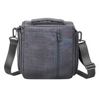 Фото Сумка RivaCase 7503 Canvas Case Large Grey