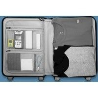 Фото Чемодан RunMi 90 Points Suitcase Grey Stars 64л Р26259