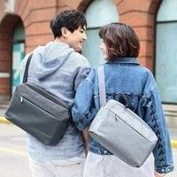 Фото Сумка RunMi 90 GOFUN of urban simple Mail bag Dark Grey Р31257