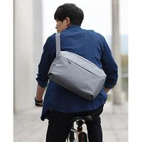 Фото Сумка RunMi 90 GOFUN of urban simple Mail bag Light Gray Р31258