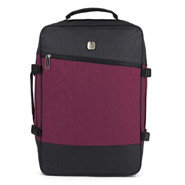 158caae99344 Сумка-рюкзак Gabol Saga Red 34л 926193 - практичный дорожный рюкзак-сумка,  который идеально подходит для путешествий. Качественные ткани, продуманный  дизайн ...