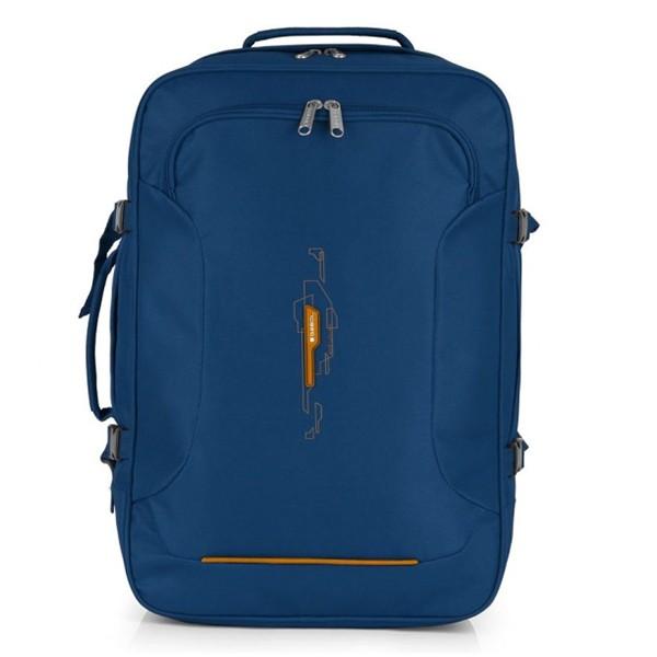 291db70fa687 Сумка-рюкзак Gabol Week Cabin Blue 35л 926158 - практичный дорожный рюкзак- сумка, который идеально подходит для путешествий. Качественные ткани,  продуманный ...