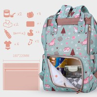 Фото Рюкзак для мамы Sunveno Diaper Bag Green Dream Sky NB22544.GDS