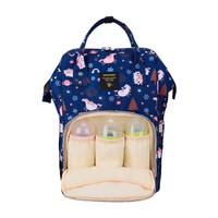 Фото Рюкзак для мамы Sunveno Diaper Bag Blue Dream Sky NB22544.BDS