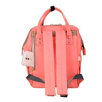 Фото Рюкзак для мамы Sunveno Diaper Bag Orange Pink NB22179.OPK