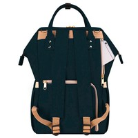 Фото Рюкзак для мамы Sunveno Diaper Bag Black Embroidery NB22179.BKE