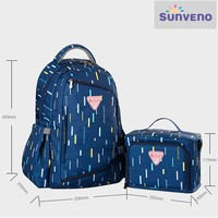 Фото Рюкзак для мамы Sunveno 2-in-1 Navy Blue NB22148.NBL