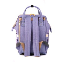 Фото Рюкзак для мамы Sunveno Diaper Bag Blue Purple NB22179.BPL