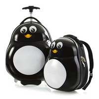 Фото Набор Heys Чемодан + Рюкзак TRAVEL TOTS Penguin He13030-3088-00