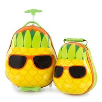 Фото Набор Heys Чемодан + Рюкзак TRAVEL TOTS Pineapple He13030-3198-00