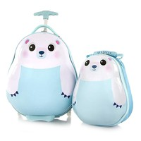 Фото Набор Heys Чемодан + Рюкзак TRAVEL TOTS Polar Bear He13030-3201-00