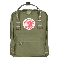 Фото Рюкзак Fjallraven Kanken Mini Green-Folk Pattern